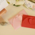 心思心意郵票(12) 「心思心意郵票+婚禮」感謝卡套 為感謝卡增添誠意