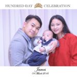 ♡JAMES♡ WEDEX PHOTO AT 100 DAYS CELEBRATION @ 金殿海景宴會廰