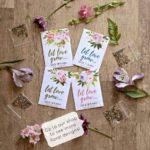 婚禮回禮篇(4) Let Love Grow~—袋裝種子