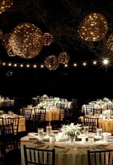 結婚資訊(31) 像點點星光嘅燈光︳打造夢幻晚宴