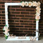 結婚資訊(16) Photobooth道具︱立體花相框