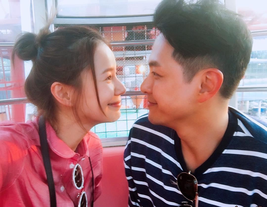 星級婚訊(3) 蕭正楠黃翠如台慶宣佈已婚︳Instagram甜蜜分享婚後感言!