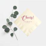 婚禮回禮篇(13) 一切從細節入手︳ 歐式個人化小餐巾
