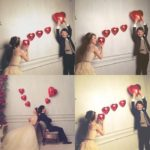 結婚資訊(60)  氣球紅心發射︱甜蜜婚照Get!