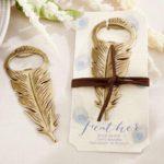 婚禮回禮篇(16)  金色羽毛開瓶器