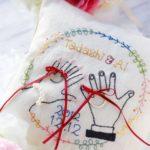 結婚資訊(68) 日系戒指枕︳刺繡x絲帶好可愛!
