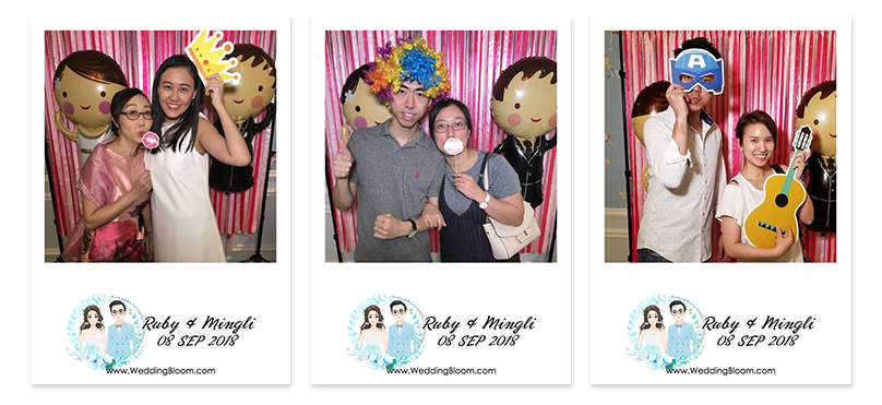 ♥Ruby & Mingli♥ WEDDING PHOTOBOOTH @ 九龍灣德福ClubONE 德藝會