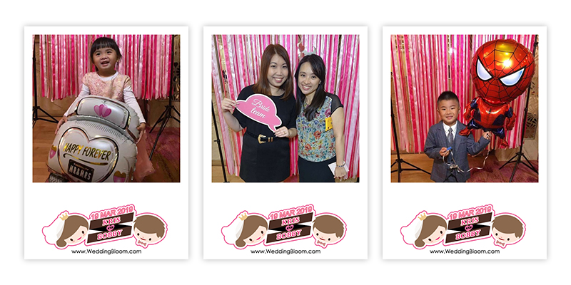 ♥Carol & Frederick♥ WEDDING PHOTOBOOTH @尖東薈Club One