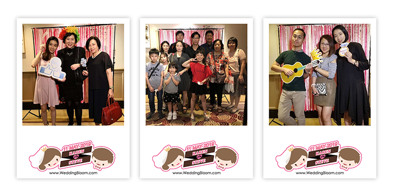 ♥Karen & Steve♥ WEDDING PHOTOBOOTH @ 香港朗廷酒店The Langham