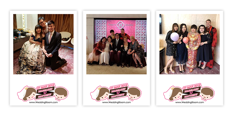 ♥Margaret & Matthew♥ WEDDING PHOTOBOOTH @ 香港康得思酒店Hotel Cordis