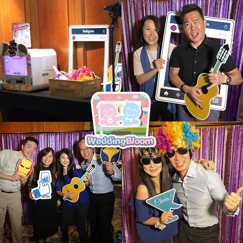 ♥Bella & Vincent♥ WEDDING PHOTOBOOTH @ 九龍海逸君綽酒店Harbour Grand Kowloon